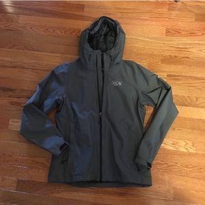 Mountain Hard Wear - grey rain jacket